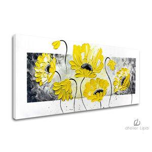 Autorská reprodukce na plátně KVĚTINY 45x110 cm XOBAM011E1/24h