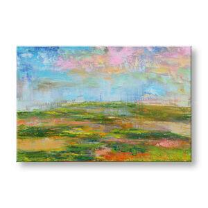 Malovaný obraz Sleva 40% na stěnu ABSTRAKT 100x65 cm FB466E1/24h