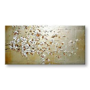 Malovaný obraz na stěnu Zľava 40% STROM 90x50 cm BI0103E1/24h