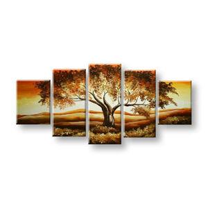 Malovaný obraz na stěnu Sleva 40% STROMY 150x70 cm FB381E5/24h