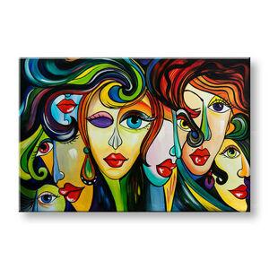 Malovaný obraz na stěnu Sleva 40% ŽENY 1-dílný 140x95 cm YOBAM010E1/24h