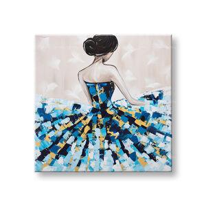 Malovaný obraz na stěnu Sleva 40% ŽENA 1dílný 100x100cm YOBFB565E1/24h