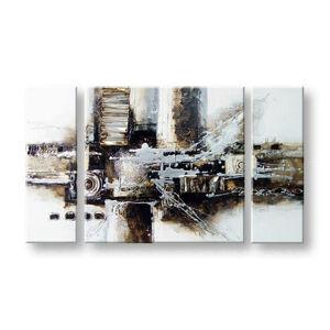 Maľovaný obraz Sleva 40 % na stenu ABSTRAKT 180x110cm FB190E3/24h