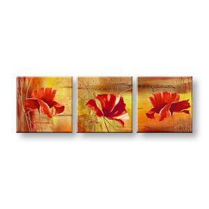 Malovaný obraz na stěnu Sleva 40% ABSTRAKT 150x50 cm FB028E3/24h