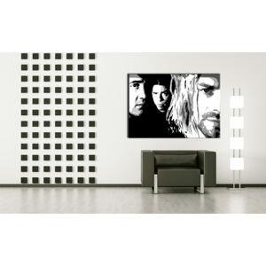 Ručně malovaný POP Art NIRVANA 1 dílný 100x70cm