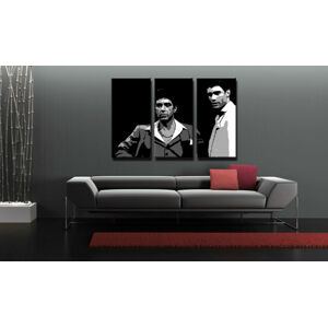 Ručně malovaný POP Art AL PACINO 3 dílný 120x80cm