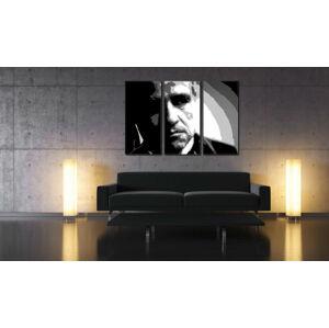 Ručně malovaný POP Art Marlon Brando 3 dílný 120x80cm