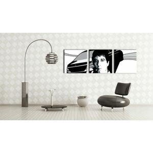 Ručně malovaný POP Art AL PACINO 3 dílný 150x50cm
