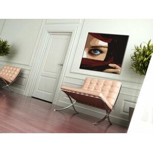 Ručně malovaný POP Art Eye 1 dílný 100x100cm