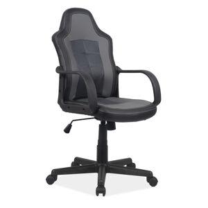 Kancelářská židle CRUZ černá/sivá