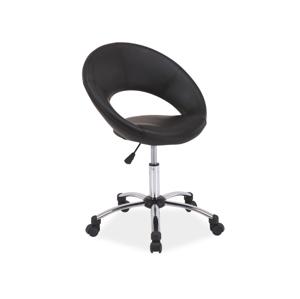 Kancelářská židle Q-128 černá