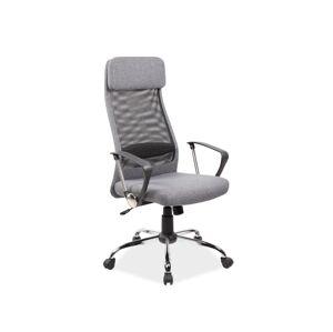 Kancelářská židle Q-345 šedá
