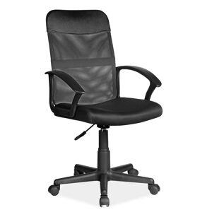 Kancelářská židle Q-702 černá