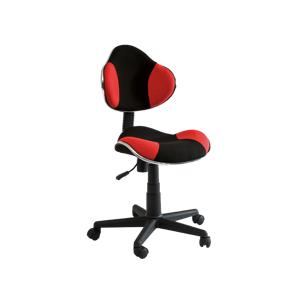 Kancelářská židle Q-G2 červeno/černá