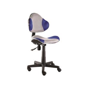 Kancelářská židle Q-G2 modro/šedá