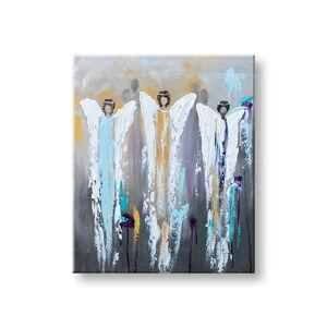 Malovaný obraz na stěnu ANDĚLÉ 1 dílný YOBFB562E1