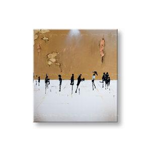 Malovaný obraz na stěnu LIDÉ 1 dílný YOBFB581E1