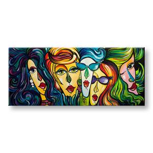 Malovaný obraz na stěnu ŽENY 1 dílný YOBAM025E1