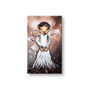 Malovaný obraz na stěnu ANDĚL 1 dílný YOBAM027E1