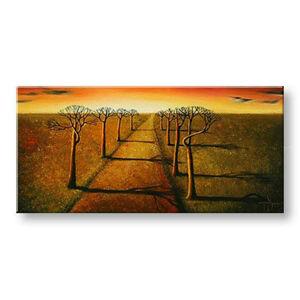 Ručně malovaný obraz 1 dílný ZEMĚ BI0039E1
