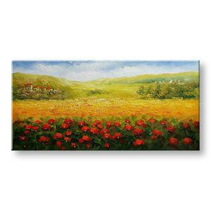 Ručně malovaný obraz na stěnu PŘÍRODA BI145E1