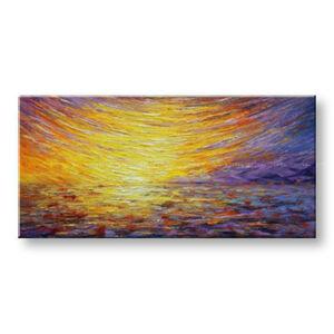 Ručně malovaný obraz na stěnu ABSTRAKT BI158E1