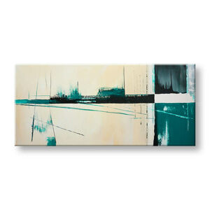 Ručně malovaný obraz DeLUXE ABSTRAKT 1 dílný YOB134D1