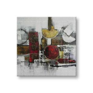 Ručně malovaný obraz na zeď ABSTRAKT FB195E1