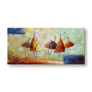 Malovaný obraz na stěnu TANEČNICE FB457E1