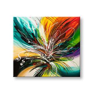 Malovaný obraz na stěnu ABSTRAKT YOBFB530E1