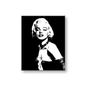 Ručně malovaný POP Art Marilyn MONROE 1 dílný 80x100cm