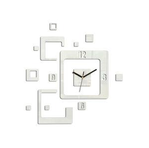 Moderní nástěnné hodiny TRIO HMCNH013-white