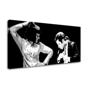 Tištěný POP Art obraz Pulp Fiction 1 dílný pulp4