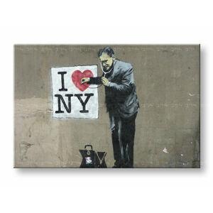 Obraz na plátně 1 dílný Street ART - Banksy