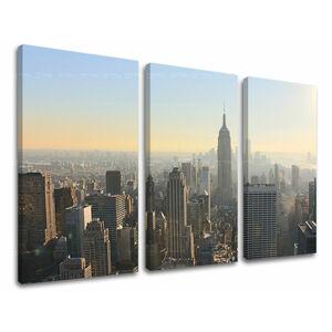 Obraz na stěnu 3 dílný MĚSTO / NEW YORK ME117E30