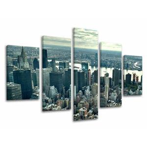 Obraz na stěnu 5 dílný MĚSTO / NEW YORK ME118E50