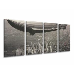Obraz na stěnu 4 dílný MĚSTO / NEW YORK ME119E41