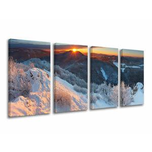 Obraz na stěnu 4 dílný SLOVENSKO SK007E41