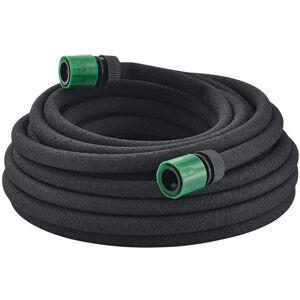 Zavlažovací hadice 15m černá barva, se spojovacím materiálem