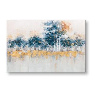Malovaný obraz na stěnu ABSTRAKT 1 dílný CWF1057WE1 - 90x60 cm