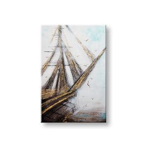 Malovaný obraz na stěnu ABSTRAKT 1 dílný CWF1099WE1 - 60x90 cm