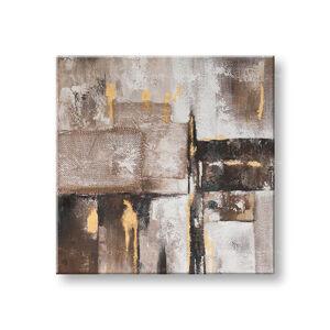 Malovaný obraz na stěnu ABSTRAKT 1 dílný CWF11292SDE1 - 70x70 cm