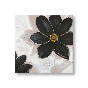 Malovaný obraz na stěnu KVĚTINY 1 dílný CWF1184WE1 - 70x70 cm