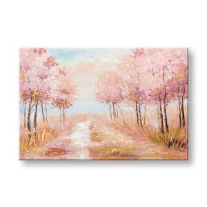 Malovaný obraz na stěnu STROMY 1 dílný CWF1538WE1 - 60x90 cm