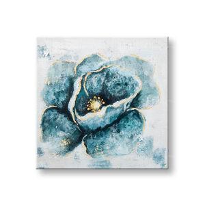 Malovaný obraz na stěnu KVĚTINY 1 dílný CWFFL028 - 50x50 cm